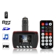 1.8 inch Car MP4 Player with FM Modulator, Supports USB Flash Diver and TF / SD Card (Black)