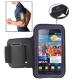 Sports Armband Case with Earphone Hole for Samsung Galaxy S2 / i9100 (Purple)