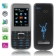 T6 Black, Russian Keyboard, Big Speaker, Bluetooth FM function Mobile Phone, Dual Sim cards Dual standby, Dual band, Network: GSM900 / 1800MHZ