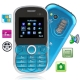 S700 Blue, Russian Keyboard, Bluetooth FM function Mobile Phone, Dual sim cards Dual standby, Dual band, Network: GSM900 / 1800MHZ