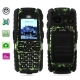 S8 Camouflage, Dustproof + Shockproof Mobile Phone with Flashlight, Bluetooth &amp; FM Function, Single SIM Card, Long Standby Time, Network: GSM900/ 1800/ 1900MHz
