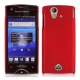 Plastic Case for Sony Ericsson Xperia Ray ST18i (Scarlet Red)
