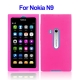 Silicone Case for Nokia N9 (Magenta)