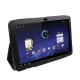 Leather Case with Holder for Motorola Xoom (Black)