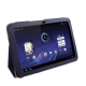 Leather Case with Holder for Motorola Xoom (Dark Blue)