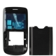 Full Housing Cover for Nokia C3, with logo (Black)