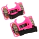 Flashing rollers, Light-up skate, Max Load: 45kg (Pink)