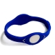 Blue Silicon Wristband Bracelet, Size: 17.5cm(S)