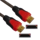 1.4 Version, HDMI to HDMI 19Pin Cable, Support Ethernet, 3D, HD TV / Xbox 360 / PS3 etc, Length: 1.8m (Gold Plated)