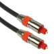 Digital Audio Optical Fiber Toslink Cable, Cable Length: 2m, OD: 6.0mm