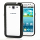2-color (Plastic + TPU) Bumper Frame for Samsung Galaxy Win i8550 / i8552  (Black)