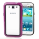 2-color (Plastic + TPU) Bumper Frame for Samsung Galaxy Win i8550 / i8552  (Purple)