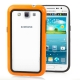 2-color (Plastic + TPU) Bumper Frame for Samsung Galaxy Win i8550 / i8552  (Orange)