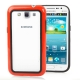 2-color (Plastic + TPU) Bumper Frame for Samsung Galaxy Win i8550 / i8552 (Red)