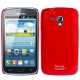 SGP Series Smooth Surface Ultra Thin Plastic Case for Samsung Galaxy Dous i8262D (Red)