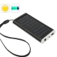 1350mAh Solar Charger for Mobile phone, Digital camera, PDA, MP3/MP4 Player (Black)