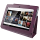 Leather Case with Holder for Sony Tablet S / S1 (Purple)
