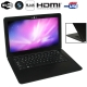 MC207, HSD-S1330 Black, 13.3 inch Aluminum Shell Slim AirBook Notebook Computer with WIFI, 1.3 Mega Pixels Camera, 320GB Hard Disk, Windows XP OS, CPU: Intel Atom D2550 Dual Core, 1.86GHz