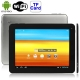 U9GTE Black, 9.7 inch Capacitive Touch Screen (10-point) Android 4.0 aPad Style Tablet PC with WIFI, Dual Cameras, Metal Shell, 16GB NAND Flash, 360 Degree Menu Rotate, CPU: RK2918 (ARM+DSP+GPU), 1.2GHz