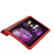 Leather Case with Ultra Thin Smart Cover for Samsung Galaxy Tab 10.1 / P7510 / P7500 (Red)