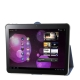 Leather Case with Smart Cover for Samsung Galaxy Tab 10.1 / P7510 / P7500 (Blue)