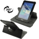 360 Degree Rotatable Leather Case with Holder for Samsung Galaxy Tab 2 / P3100 (Black)