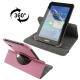 360 Degree Rotatable Leather Case with Holder for Samsung Galaxy Tab 2 / P3100 (Pink)