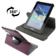 360 Degree Rotatable Leather Case with Holder for Samsung Galaxy Tab 2 / P3100 (Purple)