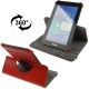 360 Degree Rotatable Leather Case with Holder for Samsung Galaxy Tab 2 / P3100 (Red)