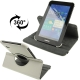 360 Degree Rotatable Leather Case with Holder for Samsung Galaxy Tab 2 / P3100 (White)