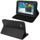 Litchi Texture Horizontal Flip Smart Cover with Holder for Samsung Tab 2 / P3100, Support Tab P6200 (Black)