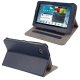 Litchi Texture Horizontal Flip Smart Cover with Holder for Samsung Tab 2 / P3100, Support Tab P6200 (Blue)