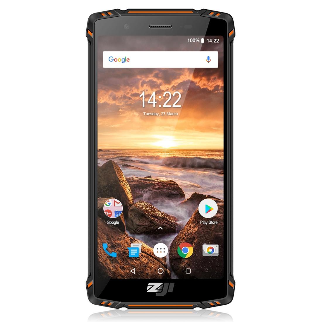 Смартфон HOMTOM ZOJI Z9 с тройной защитой от влаги пыли ударов по стандарту IP68 Две СИМ в 4G 6GB+64GB Пульсометр 5500мАч Батарея