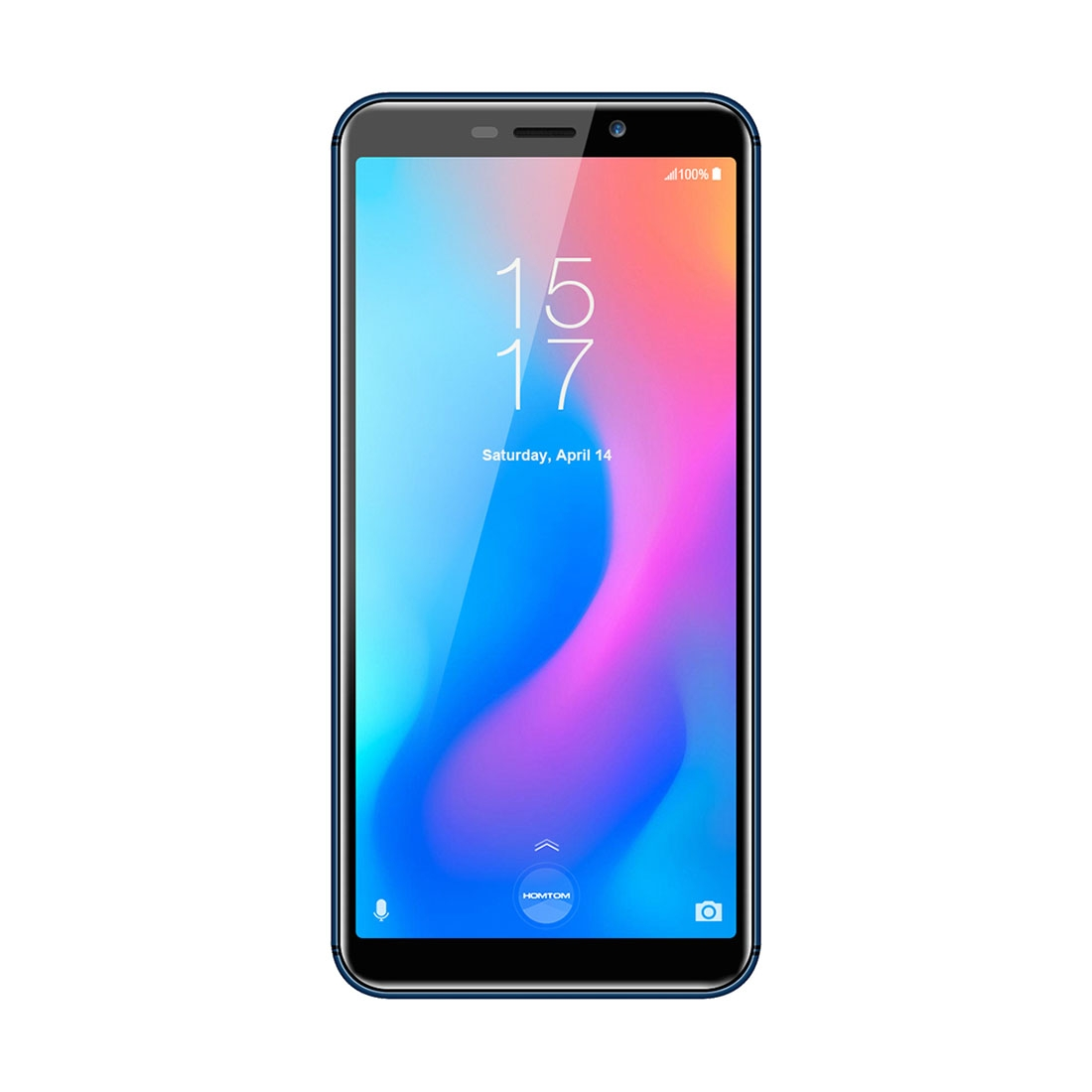Смартфон HOMTOM C2 2GB+16GB Разблокировка через Face ID и отпечаток пальца 5.5 дюйма Android 8.1 MTK6739 4 ядрадо 1.5GHz