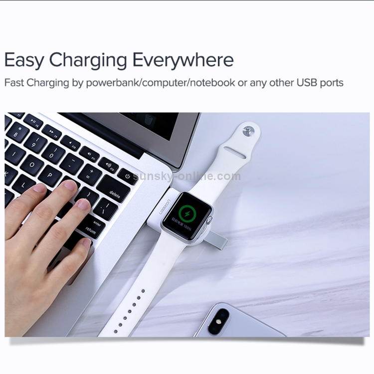 Consumer Electronics Mini Watch Wireless Charger Keychain Power Bank For Apple Watch Iwatch 1/2/3