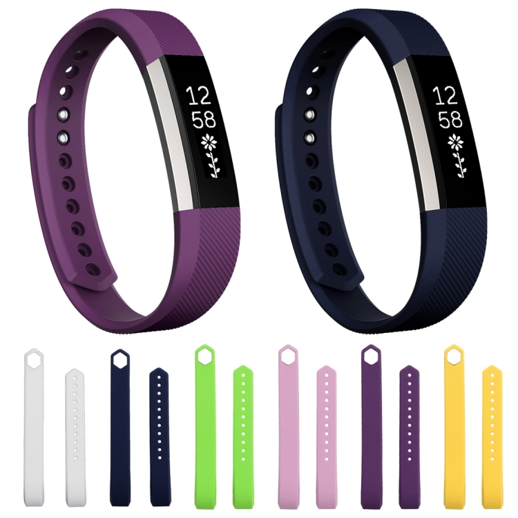 Sunsky For Fitbit Alta Watch Oblique Texture Silicone