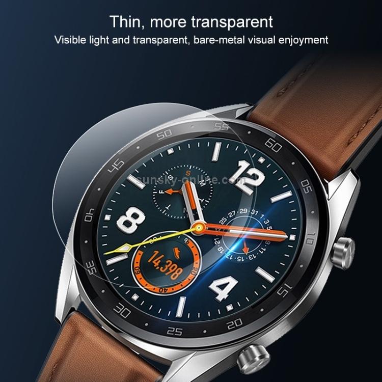 Sony Huawei DONG 50PCS 32mm Diametral Universal Tempered Glass Film for Galaxy Garmin Waterproof LG