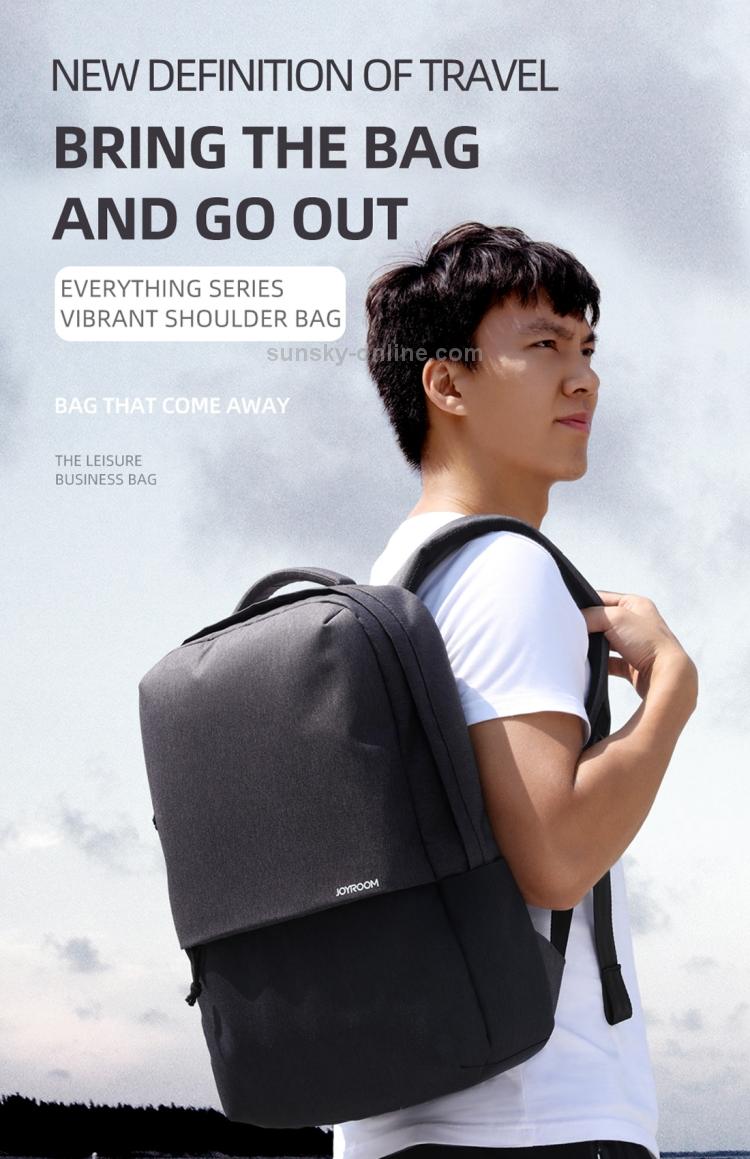 JOYROOM JR-BP593 Backpack Double-shoulder Bag 4