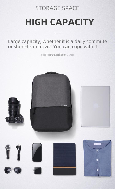 JOYROOM JR-BP593 Backpack Double-shoulder Bag 5