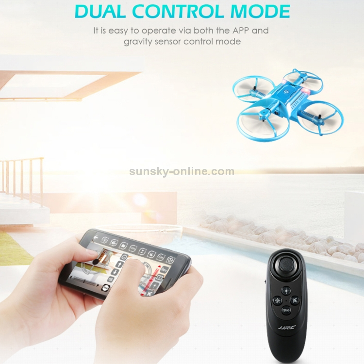 SUNSKY - JJR/C H60 720P HD Camera WiFi FPV Cross-shaped