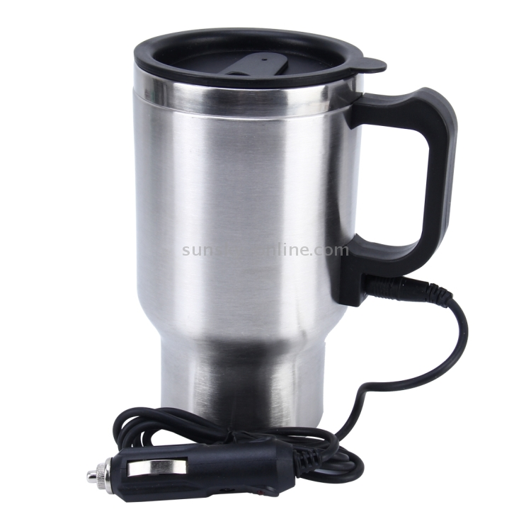 Car Cup Mug Hot Water Heater Kettle Plug in Lighter Socket Tea//Coffee//Drinks 12V