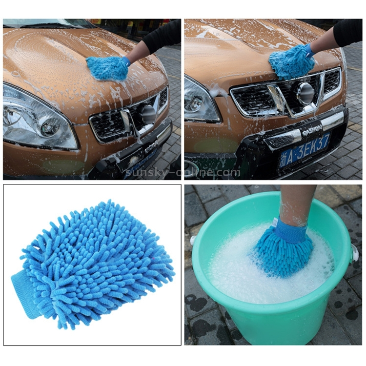 sunsky kaneed microfiber dusting mitt car window washing home cleaning cloth duster towel. Black Bedroom Furniture Sets. Home Design Ideas