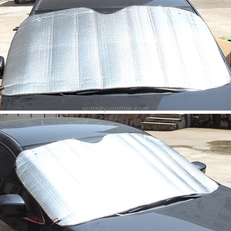 150*80cm Car Front Rear Windshield Sun Shade Cover Block Visor Anti-UV Protector
