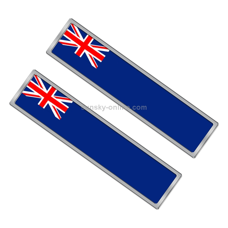 Australian AU 2Pcs Flag Style Sticker Badge for Car Door Edge Bike Decor Sticker