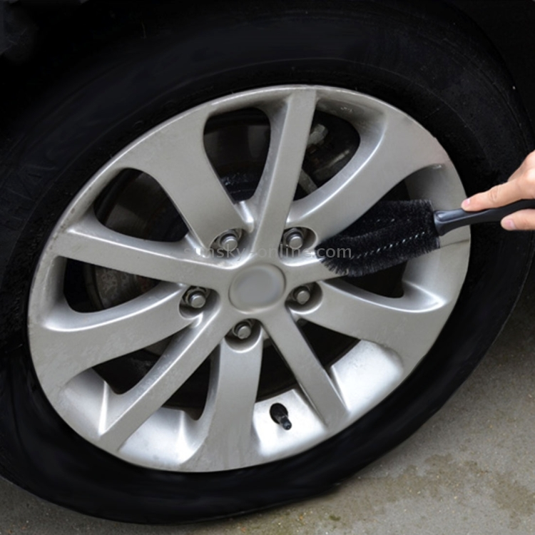 1x Car Wheel Tire Rim Scrub Brush Nice Beautiful Washing Vehicle Cleaning Tool