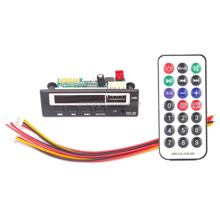 Card  MP3 WAV Player Board w// Remote control Micro SD USB Flash Drive TF