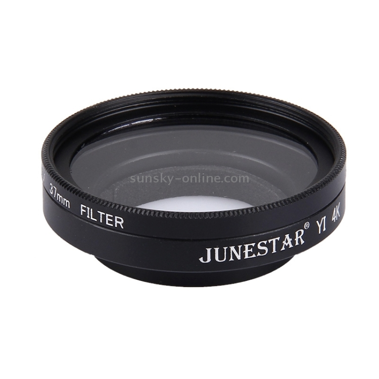 Lens Filter JUNESTAR for Xiaomi Xiaoyi Yi II 4K Sport Action Camera Proffesional 37mm UV Filter Lens Protective Cap Camere Accessories