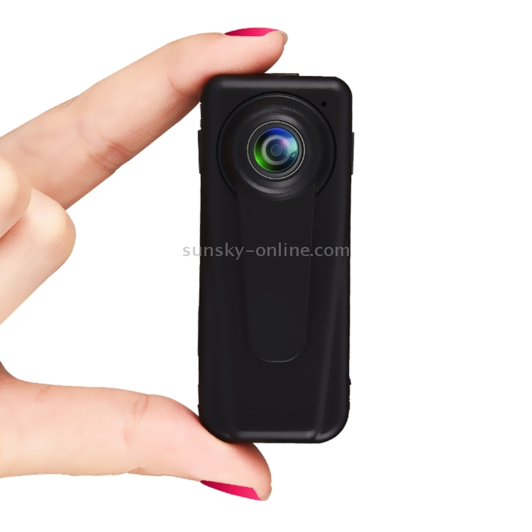 Camera F1 FHD 140 Degree Wide Angle Viewing Mini DV Recorder Camera with Clip Black Highly Recommended Support Motion Detection /& 128GB Micro SD Card Color : Black