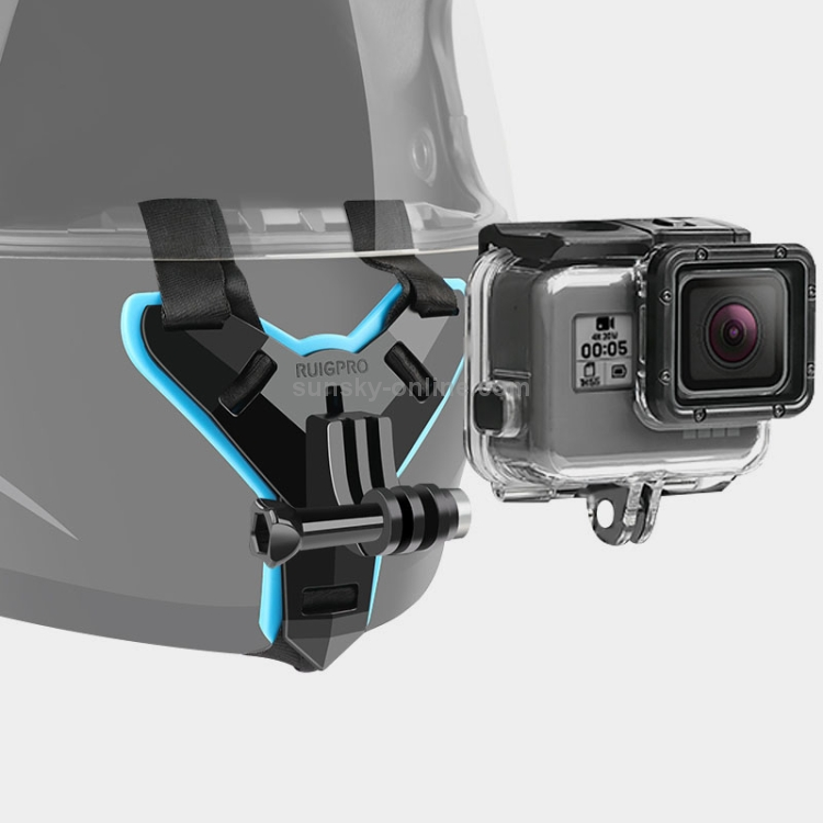 Waterproof Housing Protective Case for GoPro HERO7 Black //6//5 Durable Helmet Belt Mount