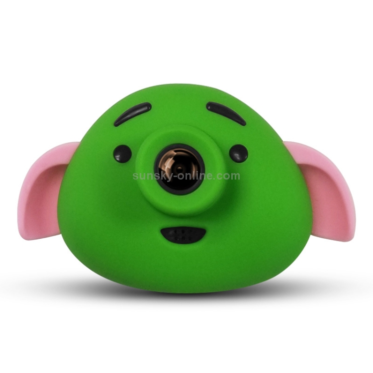 SUNSKY - Cartoon Pig 0 3 Mega Pixel Dual-Camera 1 8 inch